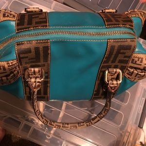 Fendi zuca cruise collection bag used